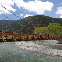 KAMIKOCHI : Myoujin-Bashi bridge