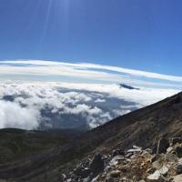 Mt. Norikura near the summit
