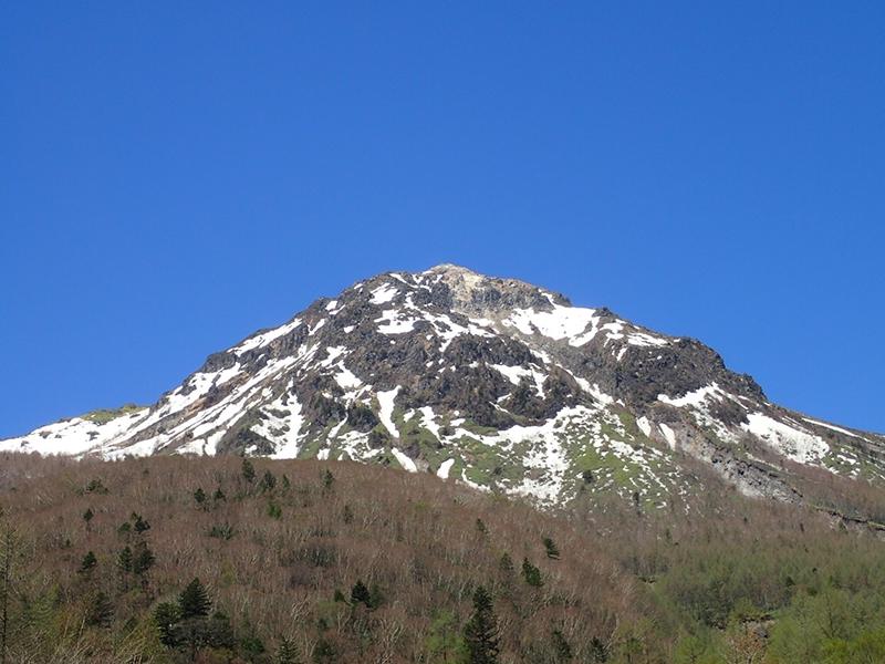 上高地:焼岳