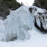 氷瀑の善五郎の滝